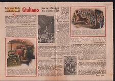 Salvatore Giuliano Strage di Portella della Ginestra Italia 1949 ILLUSTRATION