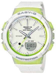 Casio-Baby-G-BGS100-7A2-Runner-Anadigi-Step-Tracker-White-amp-Green-COD-PayPal