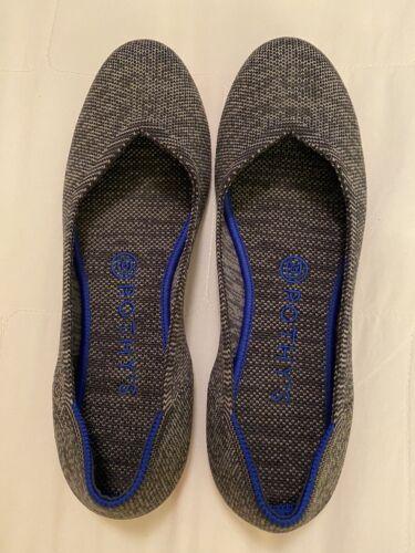Rothy's 8 Grey Round Toe