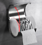Wall-Mounted-Toilet-Paper-Roll-Holder-Tissue-Box-W-Cover-Stainless-Steel-Brushed thumbnail 5