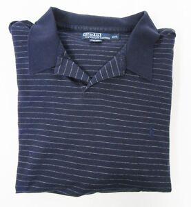 5dd8ba84c67454 Image is loading Ralph-Lauren-MINT-Mens-Shirt-Polo-Blue-Striped-