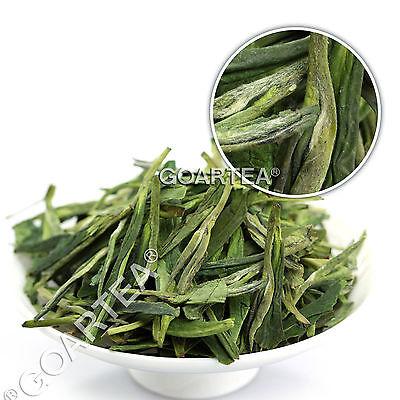Organic An ji Bai Cha Long Jing White Dragon Well Loose Spring Chinese GREEN TEA