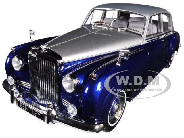 1960 BENTLEY S2 argent bleu 1 18 Diecast voiture modèle par Minichamps 100139954