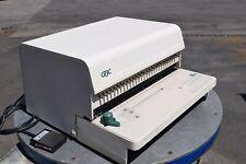 Gbc 111pm 3 Paper Punch Plastic Comb Bind Electric Punch Machine Guaranteed