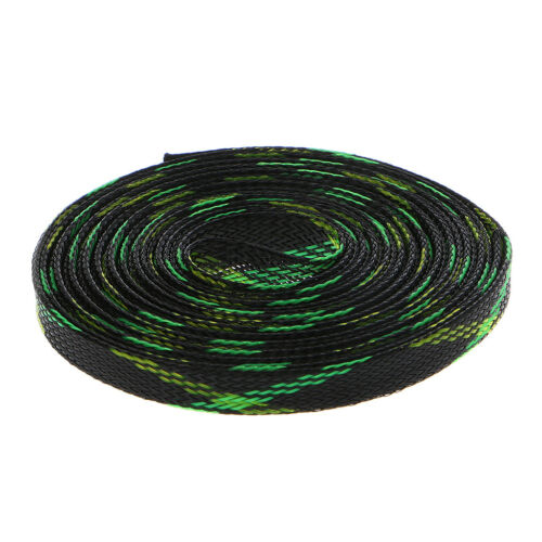 5M 4-25mm Expandable PET Braided Wire Cable Wire Sleeving Sheath