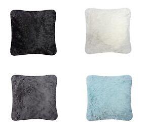 4-Pack-abrazo-amp-Cenido-Cushion-Covers-Suave-Polar-Cojin-Cuadrado-Cubre-Cubiertas-Liso
