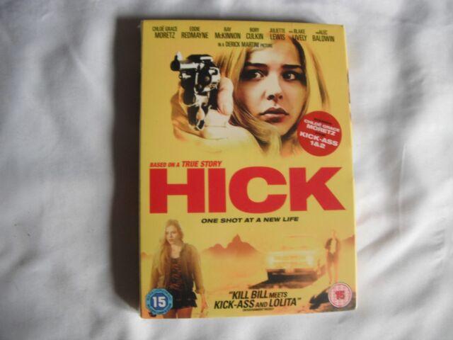 Hick (2013, DVD) Chloe Moretz, Derick Martini, Eddie Redmayne - NEW in Slip Case