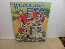 Woodland Friends animals 1950s kids book Dean & Son Ltd