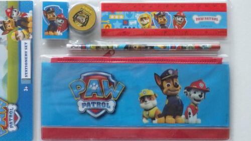 Paw Patrol 5pce Stationery Set