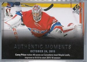 CAREY-PRICE-NO-146-AUTHENTIC-MOMENTS-in-SP-AUTHENTIC-2015-16