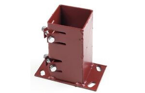 Metpost-Flush-Fit-System-2-Bolt-Down-Anchor-for-100mm-Wooden-Posts