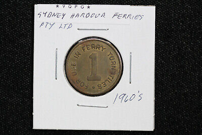 Harbour Island Tampa Florida People Mover Circulated Old Transit Token