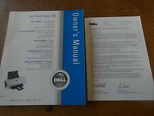 dell photo printer 720 owner s manual colour black and white ebay rh ebay co uk Dell 720 Printer Windows 7 Dell 720 Ink