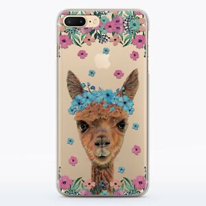 reputable site 6ebdf 29521 Details about Alpaca Lama iPhone 5s 6s Rubber Cover Llama iPhone XS Max  Silicone Case iPhone X