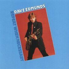 *NEW* CD Album Dave Edmunds - Repeat When Necessary (Mini LP Style Card Case)