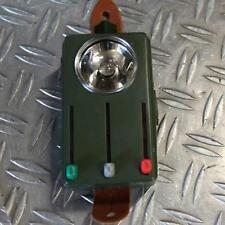 Bundeswehr Taschenlampe Handlampe Lampe 3 Farben Farblichfilter Tarnlicht ex BW