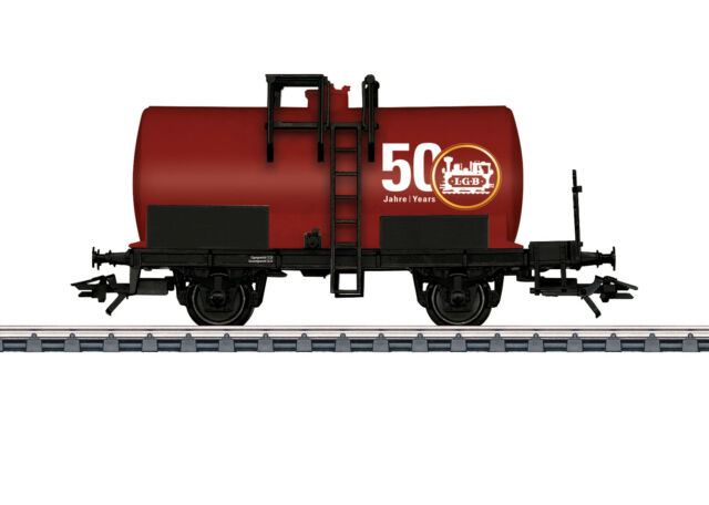 Marklin HO 44450 HSB Fire Extinguishing Water Car LGB 50th Anniversary (red)