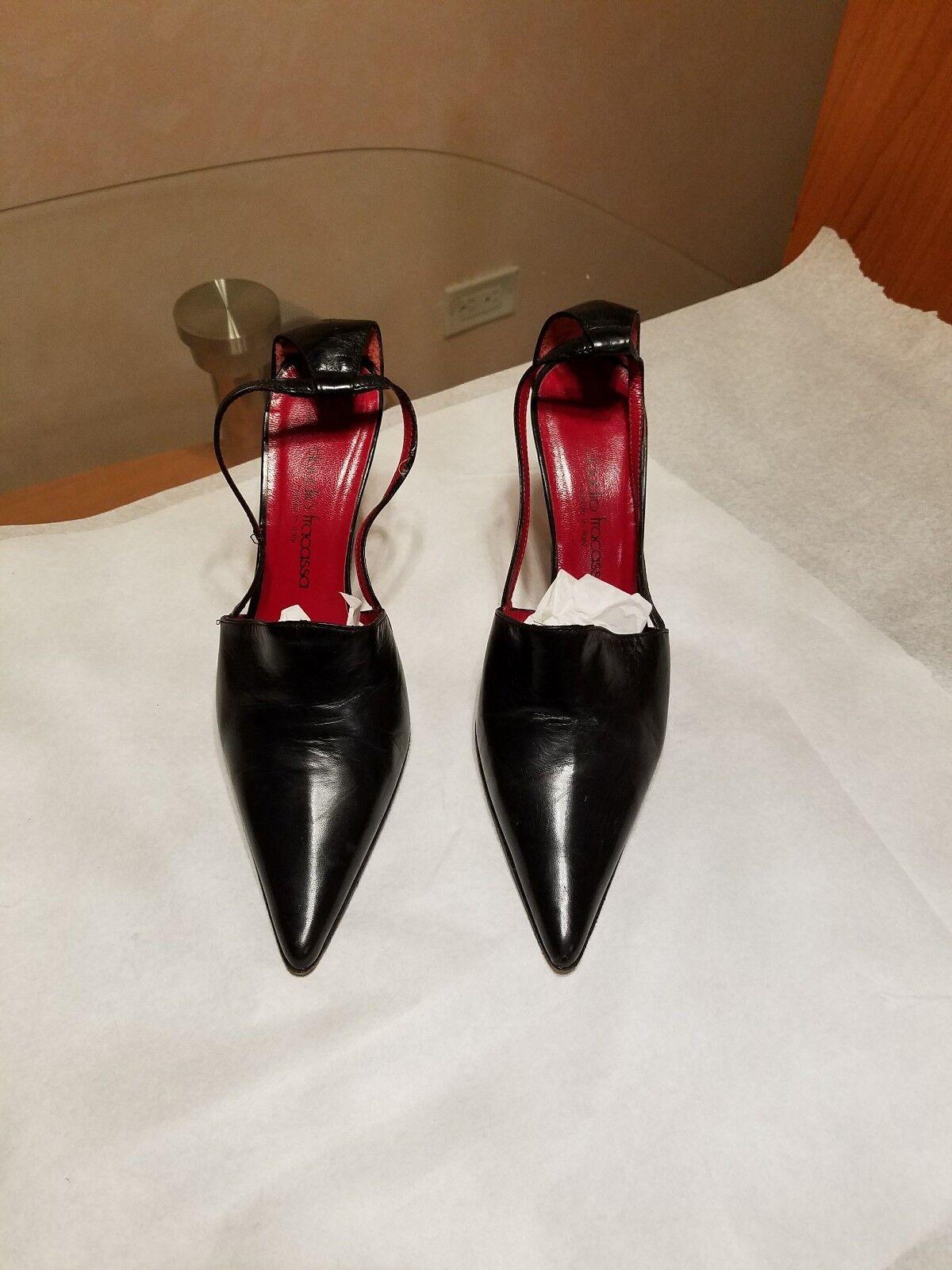 Claudio Cid Cid Cid para mujer vestido de cuero zapatos talla 37 euros Italia  promociones