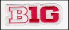 WISCONSIN WHITE JERSEY  BIG TEN LOGO PATCH NCAA COLLEGE FOOTBALL  BASKETBALL