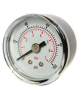 50mm-Pressure-Gauge-1-4-BSPT-Horizontal-0-15-30-60-100-160-300-PSI-amp-Bar