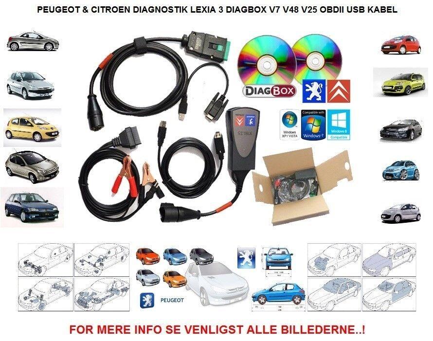 Lexia 3, PP2000, DiagBox v7.65