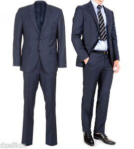 fdc1d69818 NWT Hugo Boss Black Label Super 100 Italian Wool Slim Fit Woven ...