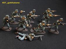 airfix/ matchbox plastic 1/32 professionally painted German Afrika Korps ww2.
