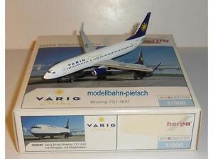 """Herpa Wings 505840 """"B737-800 Varig Brasil PP-VSA"""" 1/500 neu, OVP - Berlin, Deutschland - Herpa Wings 505840 """"B737-800 Varig Brasil PP-VSA"""" 1/500 neu, OVP - Berlin, Deutschland"""
