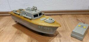 Torpedo Boat Radio Controlled PT 109 Model 7723 - Ellingen, Deutschland - Torpedo Boat Radio Controlled PT 109 Model 7723 - Ellingen, Deutschland