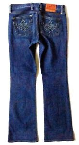Low Brand Blue Donna N Sweet Denim Lucky Jeans 4 Taglia 0UWwq
