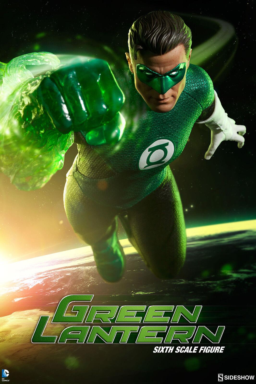 Dc Hal Jordan Grün Lantern Sixth Scale Action Figure Sideshow Lanterna Verde