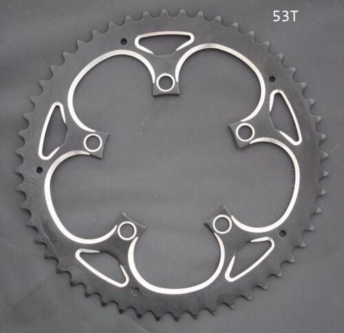 110 BCD Chainring 34T 39T 44T 46T 48T 50T 53T crankset 5 to 9 speed 3//32 chain