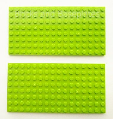 PINS 8x16 STUDS - Brand New 2 x LEGO 8x16 LAVENDER Plate Baseplate Base