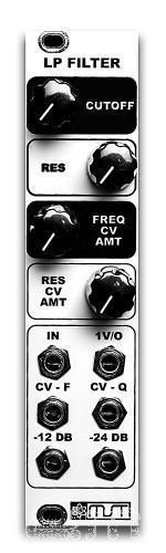 MST Vc Tiefpass Filter Selbstbau-Kit  Eurorack Modul  Neu Detroit Modular]