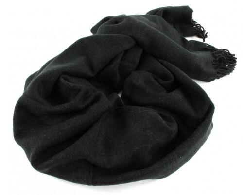 ESPRIT Double Face Scarf Schal Tuch Accessoire Black Schwarz Grau Neu