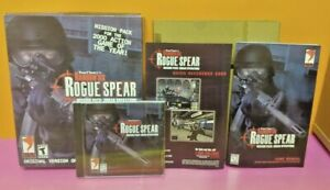 Tom Clancys Rainbow Six Rogue Spear Mission Urban Operations (2000) SEALED PC