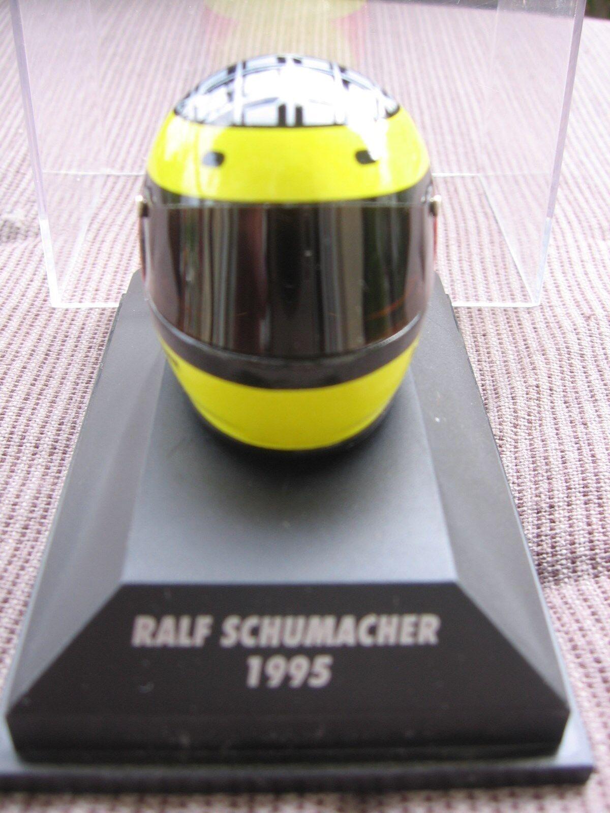 Schumacher f1 DALLARA OPEL Bell 1995 1:8 HELMET MINICHAMPS/NEW!