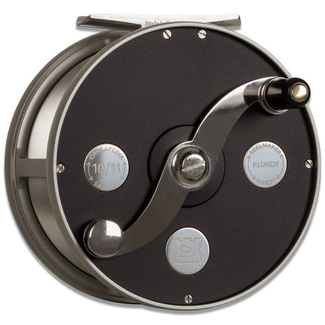 Hardy Cascapedia Fly Fishing Reel 4 5 Made In Uk On Hrecasb010 For Sale Online Ebay