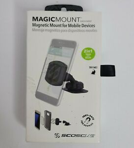 Scosche MAGDV MagicMount Magnetic Vent / Dash Mount For Mobile Devices Brand New
