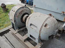 30 KW General Electric AC to DC Motor Generator, 250 Volts, 120 Amps