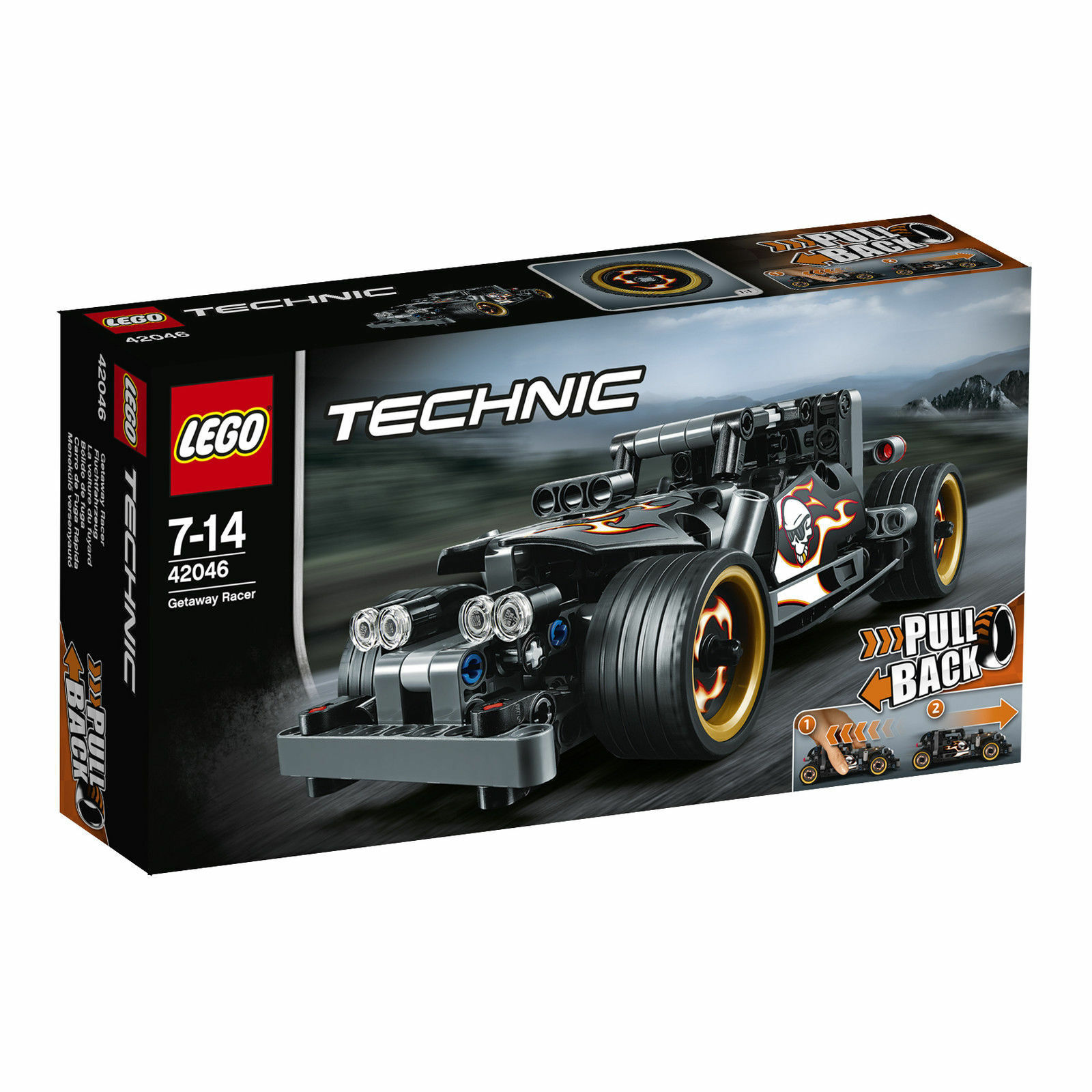 LEGO® Technic Fluchtfahrzeug 42046 NEU/OVP