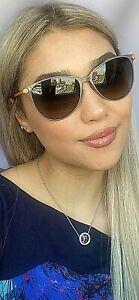 New-FENDI-FF-0022-S-7WFHA-57mm-Gray-Designer-Women-039-s-Sunglasses-Italy