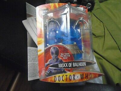 Doctor Dr Moxx of Balhoon Who Loose Action Figure