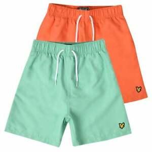 Lyle-amp-Scott-Juniors-Classic-Swim-Shorts-Colours-Orange-or-Green
