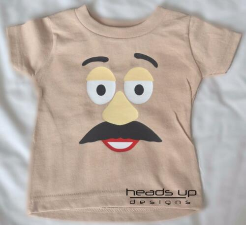 Mr Potato Head Shirt Newborn Infant Baby Toddler Kid Boy Adult Potato