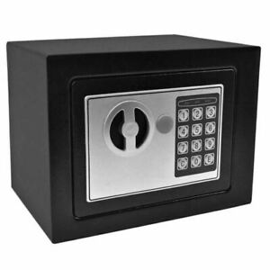 Bond Hardware 73025B Mini Compact Digital Safe - Black