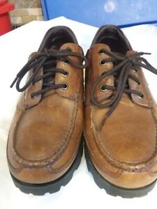cherokee mens work/casual shoe boho chic size 10leather