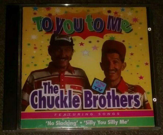 Chuckle Brothers - To You To Me (CD, 1995) *As Seen on TV Chucklevision Rare CD