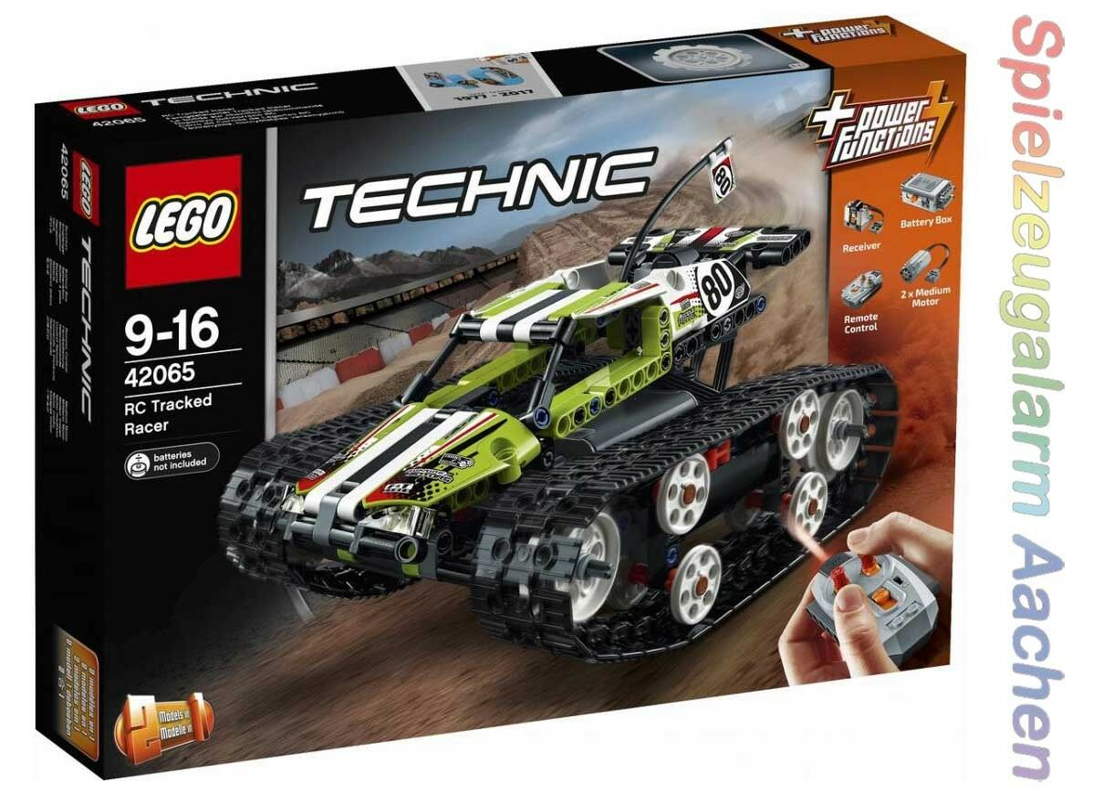 LEGO Technic 42065 Ferngesteuerter Tracked Racer Offroad Truck RC Tracked N1 17
