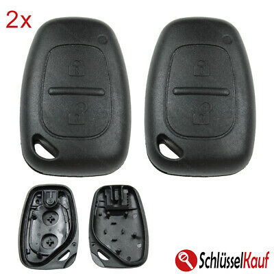 Car Key 3 Button Housing Suitable for Opel Nissan Movano Vivaro Interstar